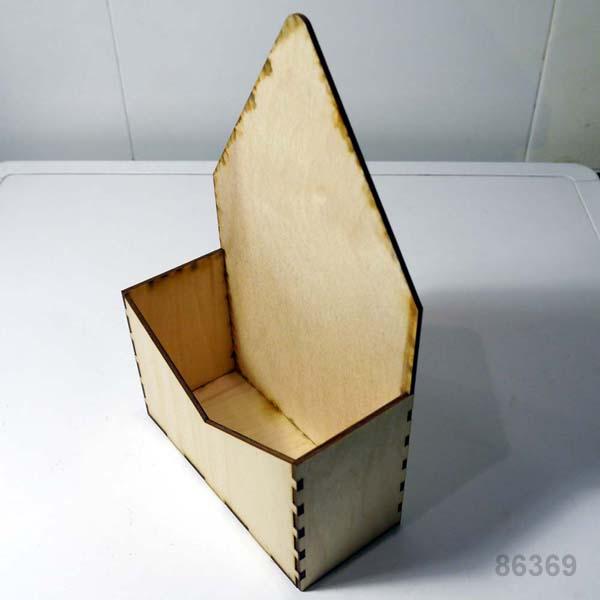 Деревянный конверт для букетов