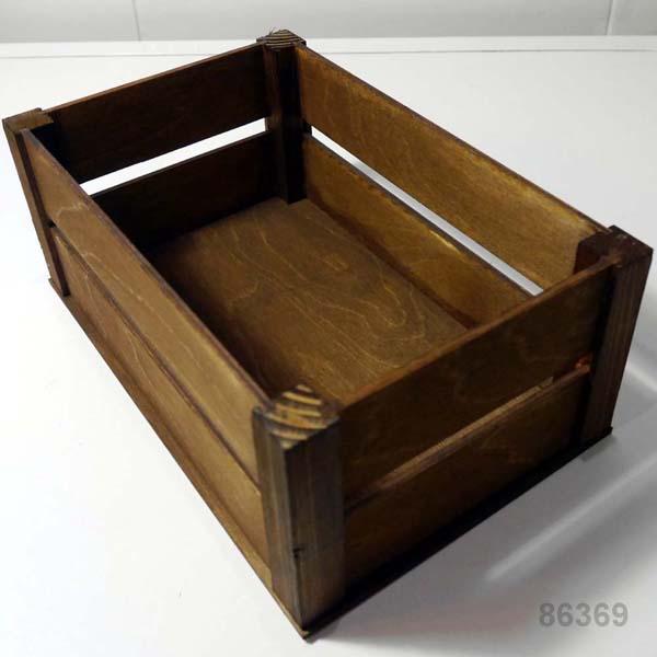 Деревянный ящик для букетов